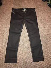 "DIESEL KYGIO BLACK STRAIGHT LEG JEANS WITH LACE POCKET DETAIL W29"" X L29""  0672"