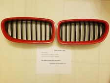 BMW 5 Series 2011+ (F10) Grille Set (HiPower Red trim)