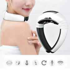 Cervical Neck Massager Physical Therapy Electromagnetic Shock Pulse Pain Relief