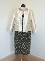 Fenn Wright Mason Special Occasion Silk Dress size 18 Jacket size 16 NEW