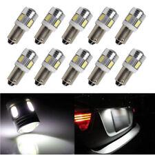 10X BA9 BA9s White 6SMD LED Bulb for RV Car Tail Backup Corner Side Marker Light