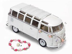 VW T1 Wedding Bus (1962) Diecast Model Car H5085
