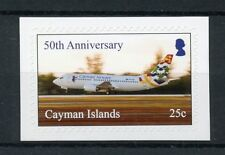 Cayman Islands 2018 MNH Cayman Airways 50th 1v S/A Set Aviation Stamps