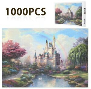 Jigsaw Puzzles 1000 Piece Castle Night for Adult Kids Puzzle Home Decor
