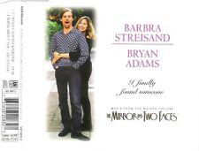 Barbra Streisand & Bryan Adams Maxi CD I Finally Found Someone - Australia (M