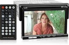 "Power Acoustik Single Din Bluetooth Cd/Dvd Car Stereo w/ 7"" Touchscreen Pd-710B"