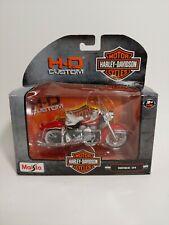 Maisto 1:18 Harley-Davidson 1997 FLHR Road King Motorcycle Diecast Model Toy NIB
