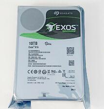 "Seagate Exos X16 ST10000NM001G 10 TB 7200RPM 3.5"" SATA  Enterprise Hard Drive"