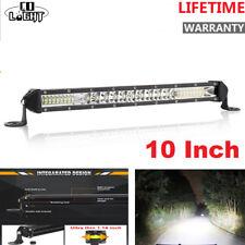 100W 10inch Single Row super  Slim LED Work Light Bar for Car Off road Truck