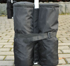 Anchor Sandbags Canopy Weight Bags Black Set of 4 for Pop Up Party Tent