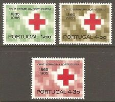 Red Cross Portuguese & Colonies Stamps