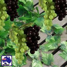 12x 7.9ft Artificial Leaf Ivy Vine + 6 Bunches Grapes HVINE01x12+HVIGR35x6