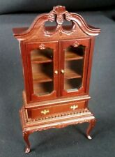 Fantastic Merchandise Cottage China Hutch Dollhouse Miniature wood furniture