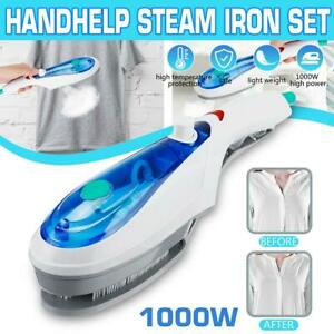 Portable Steamer Iron Brush Travel Handheld Steam Clothes Garment Cleaning