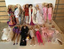Mattel Barbie Doll Lot of 32 Barbies - Christian Dior, Wedding Barbie, Cruella