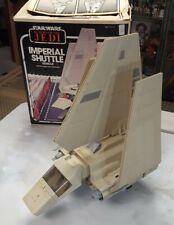 100% complete STAR WARS IMPERIAL SHUTTLE Vintage Figure Vehicle ROTJ w/Box 1984