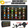"""Android 8.1 7""""Double 2 DIN Car Radio GPS Player WIFI BT Navi With Backup Camera."""