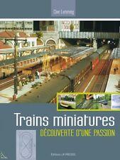 Trains Miniatures, Miniature trains, French book