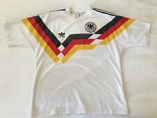1988-90 WEST GERMANY ADIDAS HOME FOOTBALL SHIRT (SIZE M/L) VINTAGE JERSEY