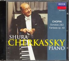 CHOPIN - Piano Sonatas 2 & 3 / Fantasie - Shura CHERKASSKY - Decca