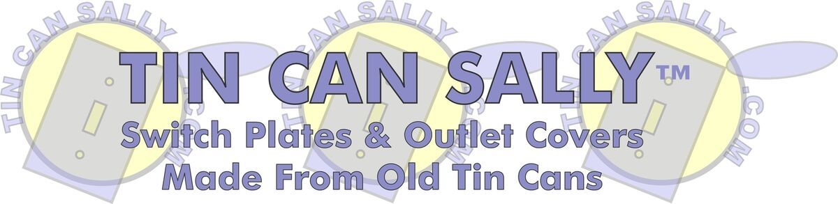 Tin Can Sally Switch Plates