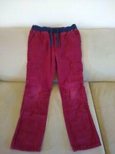 GYMBOREE Boys' Burgundy 100% Cotton Pants, size 12
