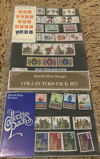 3 Collector Packs Stamps.Year Pack