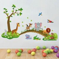 Removable Cute Cartoon Animals Wall Sticker Decal Kids Nursery Baby Room Decor