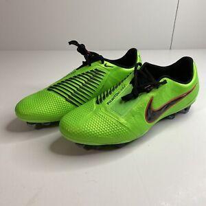 Nike Phantom Venom Elite FG Soccer Cleats Men's Sz 9.5 Green AO7540-306 ACC
