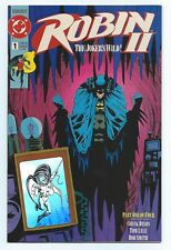 1991 DC Comics #1 Robin II The Joker's Wild Variant with Hologram Batman