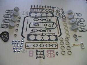 Basic Engine Rebuild Kit 1958 58 Edsel 410 V8 E-475 NEW pistons gaskets rings