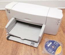 HP DeskJet 840c Parallel/USB 600dpi Inkjet Printer C6414A - No power supply/ Ink