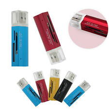 4 in 1 4 Interface USB 2.0 Memory Card Reader Writer Adapter for Win7/8/XP/Vista