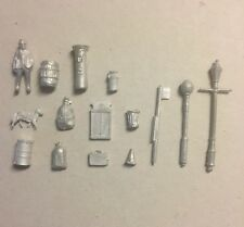 P&D Marsh OO Gauge  Scale sample pack contains 6 castings all need painting