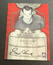 13/14 ITG LORD STANLEY'S MUG CUP AUTOGRAPH AUTO #GH2 GORDIE HOWE RED WINGS 66589