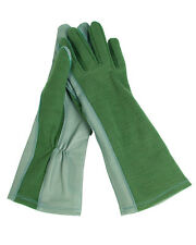 Us Army Nomex pilotos guantes verde oliva 12/XXL piloto Flight Gloves Fire resistant