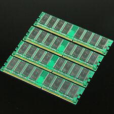 4GB 4X1GB Low DENSITY MEMORY PC3200 PC2700 DDR400 RAM 184PIN DDR1 DIMM Desktop