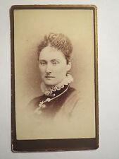 Brockton, Massachusetts-Massachusetts-Femme en Robe-portrait/CDV USA