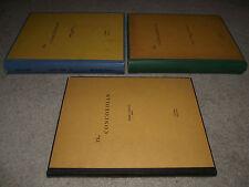 All 3 annuals-Concordian(NH) w/Bob Keeshan(Captain Kangaroo)-Founder/Head Editor