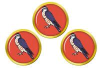 15 Nord Est Brigade, Armée Britannique Marqueurs de Balles de Golf