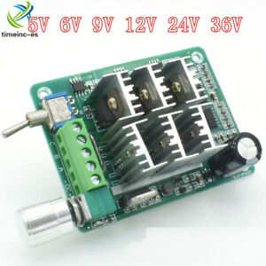 DC 5-36V BLDC Three Phase Sensorless Brushless Motor Speed Controller Fan Drive
