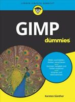 Gimp Fur Dummies, Paperback by Gunther, Karsten W., Like New Used, Free shipp...