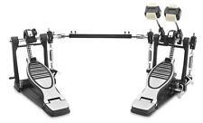 Schlagzeug Doppel Fußmaschine Double Bass Pedal Drum Fußpedal Doppelkettenzug
