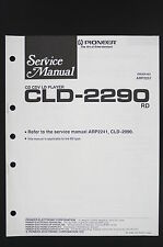 PIONEER CLD-2290 RD Original CD CDV LD-Player Service-Manual/Circuit Diagram 122