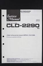 PIONEER CLD-2290 RD Original CD CDV LD-Player Service-Manual/Circuit Diagram 122