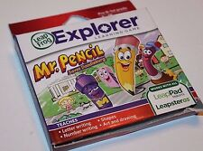 LeapFrog LeapsterGS Learning  Game Cartridge -Mr. Pencil Saves Doodleburg