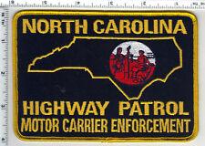 Highway Patrol (North Carolina) Motor Carrier Shoulder Patch  late 1980's