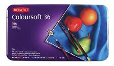 Derwent Coloursoft 36 Matita TIN