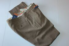 Tommy Bahama Pants St Thomas Silk Caribou Brown Flat T17153 New 32x30  32 Waist