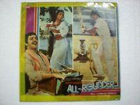 ALL ROUNDER LAXMIKANT PYARELAL 1984 RARE LP RECORD OST orig BOLLYWOOD VG+